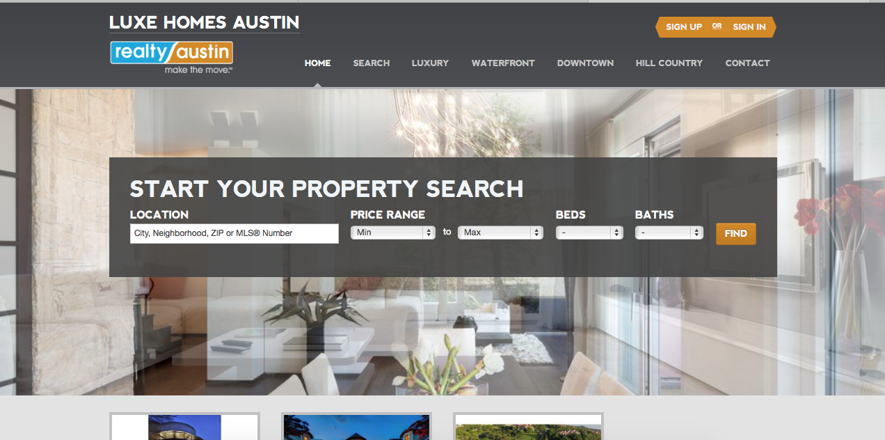 Luxe Homes Austin