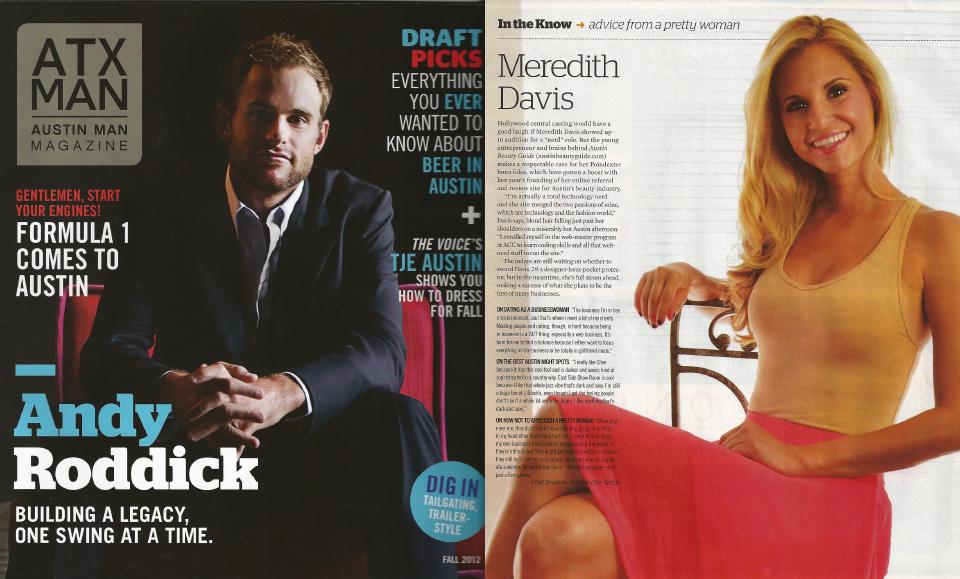 Meredith Davis ATX Man Magazine