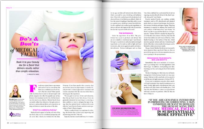 Meredith Davis Austin MD Magazine