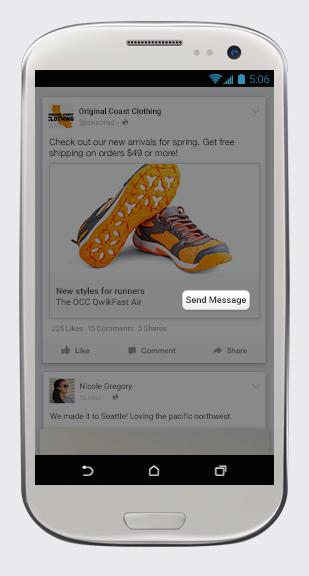 Facebook Send Message