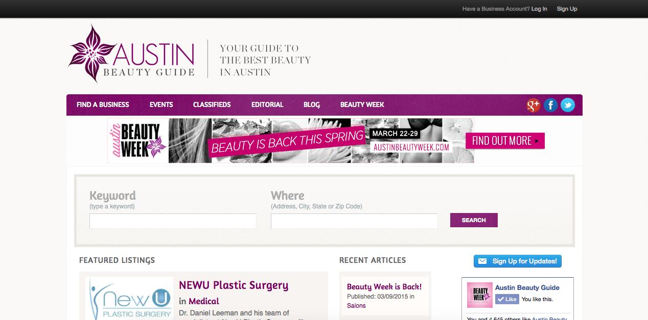 Austin Beauty Guide